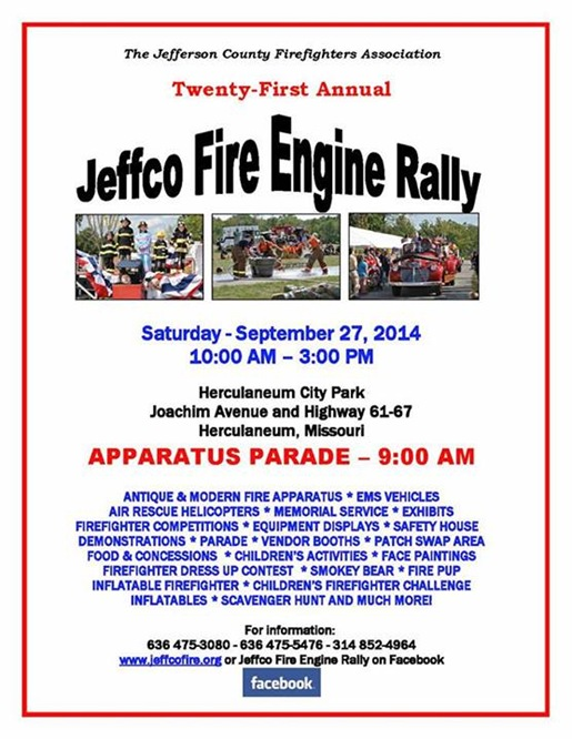 JeffCo Fire Engine Rally